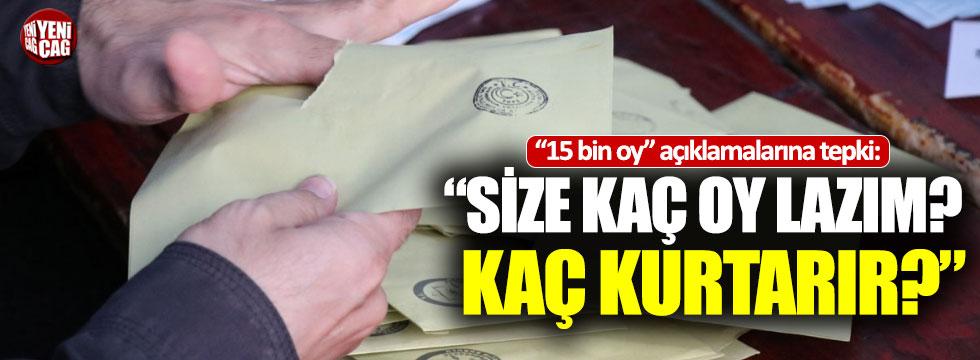 """İYİ Parti'den Erdoğan'a tepki: """"Size kaç lazım?"""""""