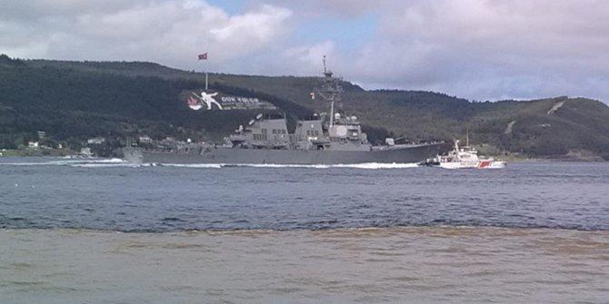 ABD savaş gemisi Marmara'da