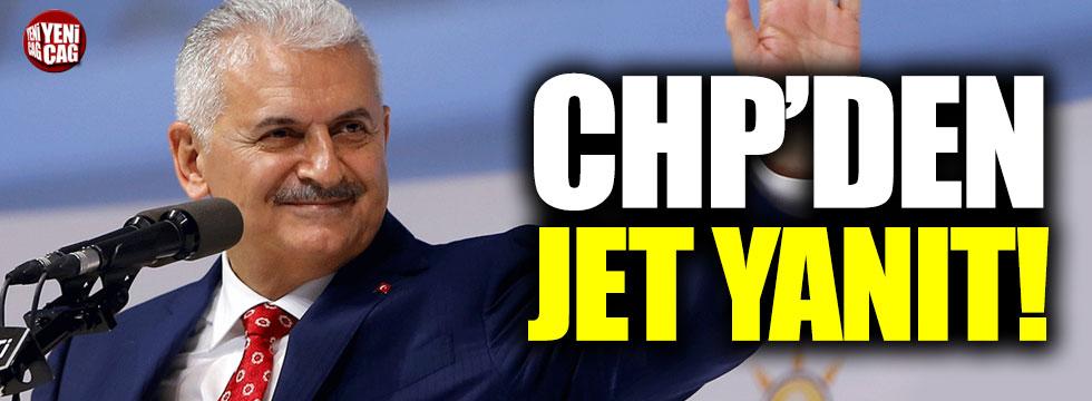 CHP'den Binali Yıldırım'a jet yanıt!