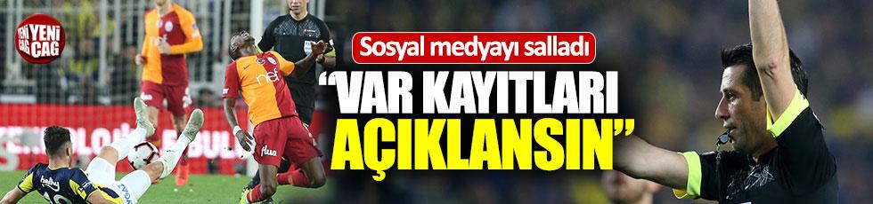 Galatasaray'dan 'VAR kayıtları açıklansın' talebi