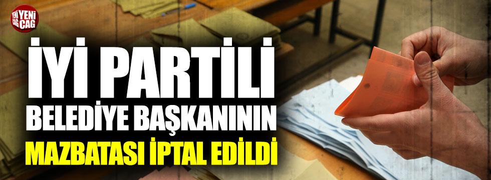 Keskin Belediye Başkanı'nın mazbatası iptal edildi!