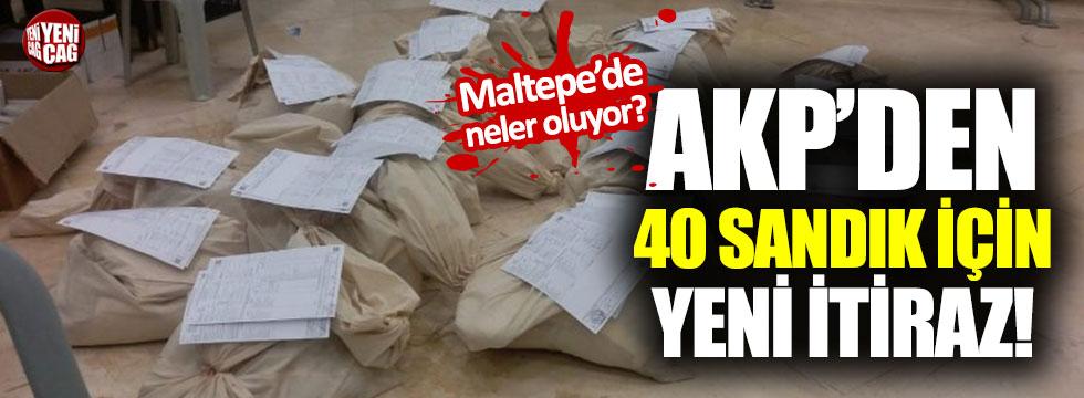 Maltepe'de son durum: AKP'den yeni itiraz
