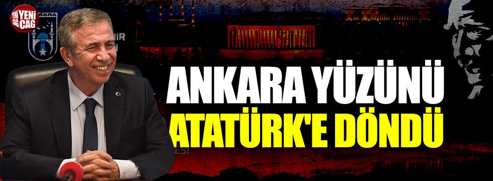 Ankara yüzünü Atatürk'e döndü