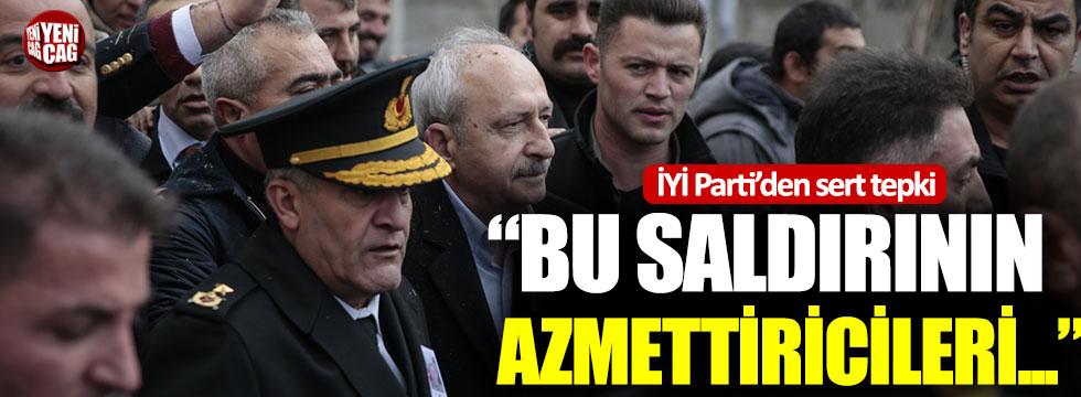 İYİ Parti'den Kılıçdaroğlu'na saldırıya tepki