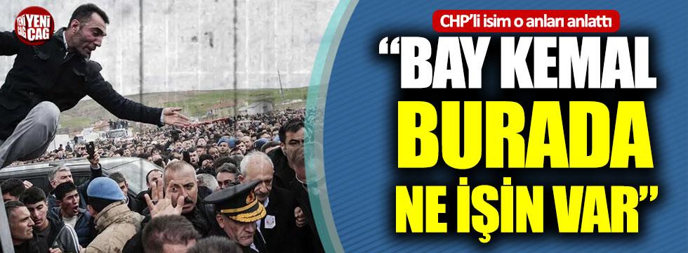 CHP'li Yıldırım Kaya, Kılıçdaroğlu'na saldırıyı anlattı