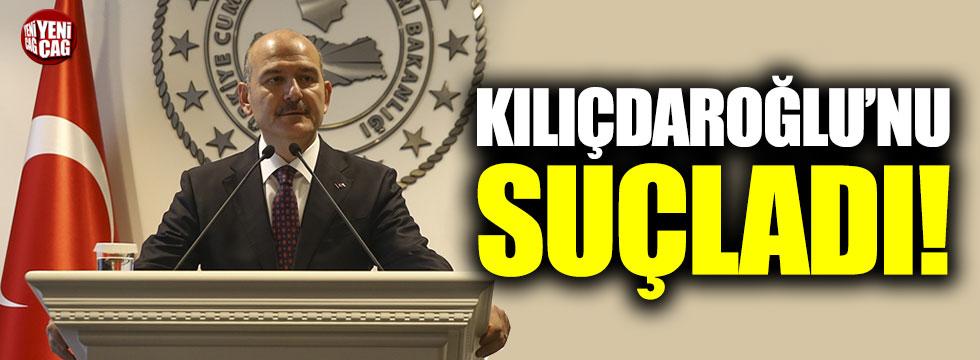 Süleyman Soylu, Kılıçdaroğlu'nu suçladı