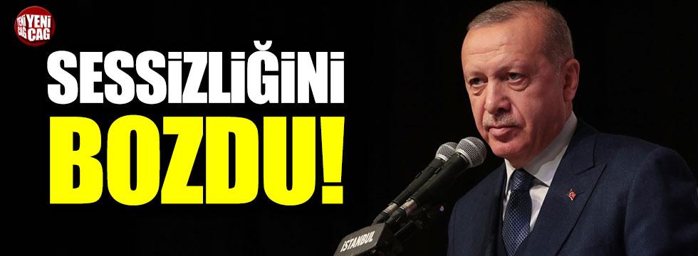 Cumhurbaşkanı Erdoğan'dan Kılıçdaroğlu'na saldırı açıklaması