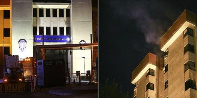 Emniyet Genel Müdürlüğü binasında yangın