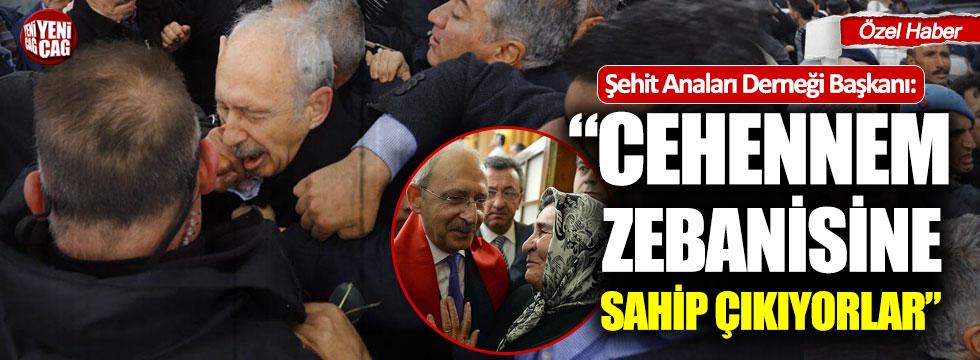 """Pakize Alp Akbaba: """"Cehennem zebanisine sahip çıkıyorlar"""""""