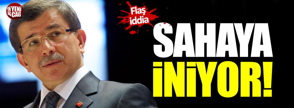 """Ahmet Davutoğlu için flaş iddia: """"Sahaya iniyor!"""""""