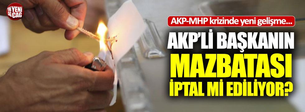 AKP-MHP arasındaki Elazığ krizinde yeni gelişme