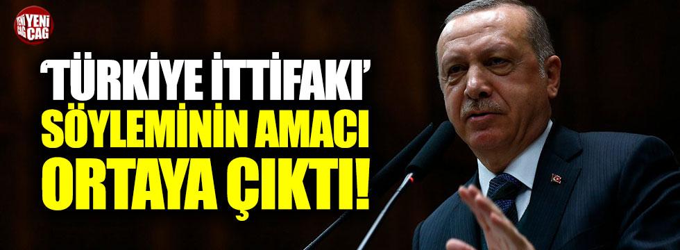 'Türkiye İttifakı' söyleminin amacı ortaya çıktı!