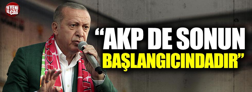 """İsmail Koncuk: """"AKP de sonun başlangıcındadır"""""""