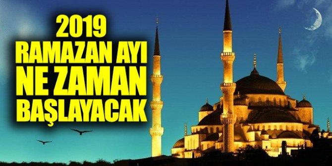 Ramazan ne zaman başlayacak? İlk oruç hangi gün tutulacak?