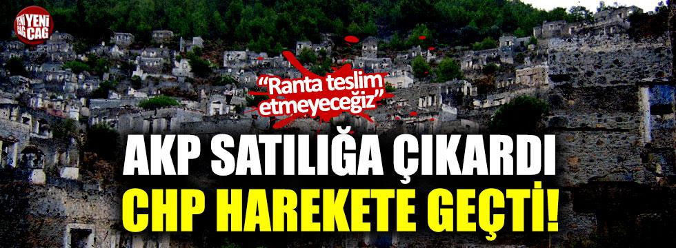 AKP satılığa çıkardı, CHP harekete geçti!