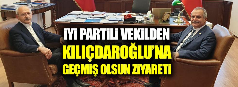 İYİ Partili vekilden Kılıçdaroğlu'na geçmiş olsun ziyareti
