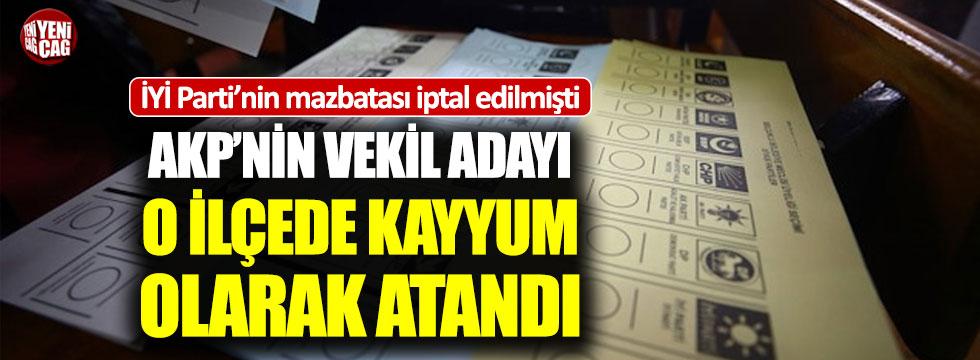 AKP'nin vekil adayı Keskin'de kayyum olarak atandı