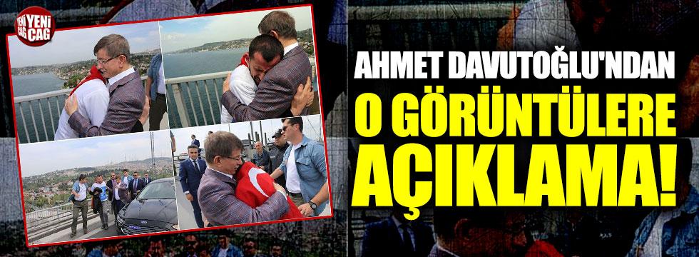 Ahmet Davutoğlu'ndan o görüntülere açıklama!