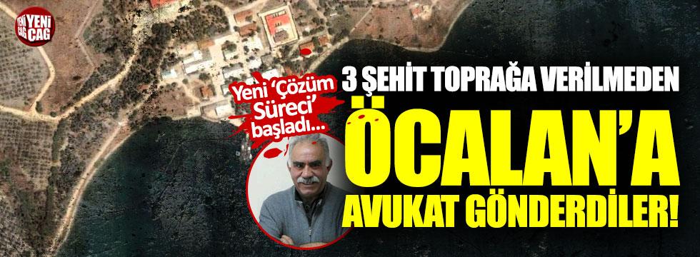Öcalan'a avukat gönderdiler