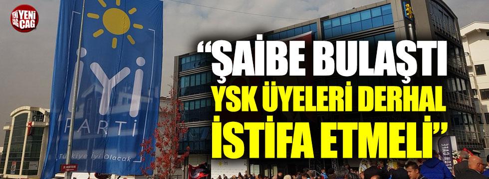 """Hasan Seymen: """"YSK üyeleri derhal istifa etmeli"""""""