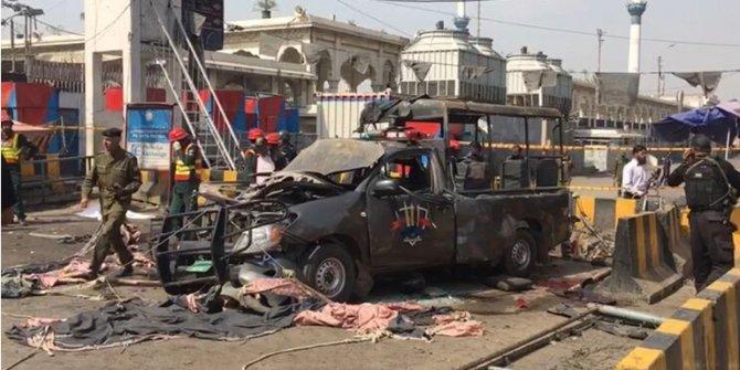 Pakistan'da patlama: En az 5 ölü