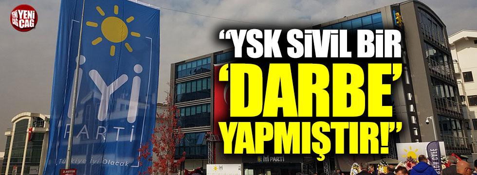 """Paçacı: """"YSK verdiği kararla sivil bir darbe yapmıştır"""""""