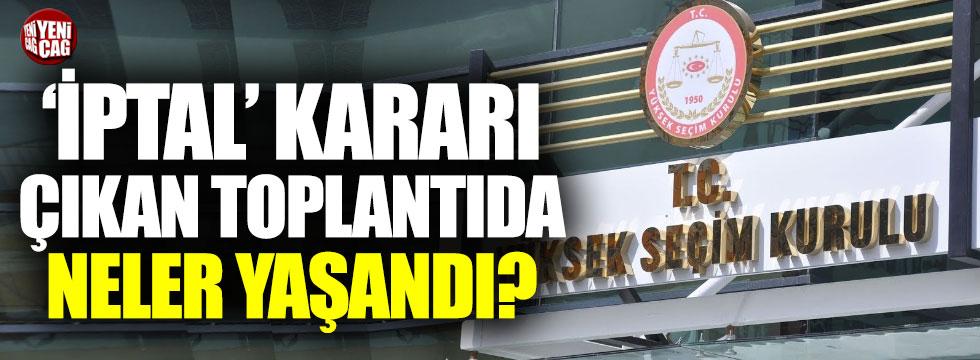 İYİ Parti YSK Temsilcisi'nden AKP'li Özel'e sandık tepkisi