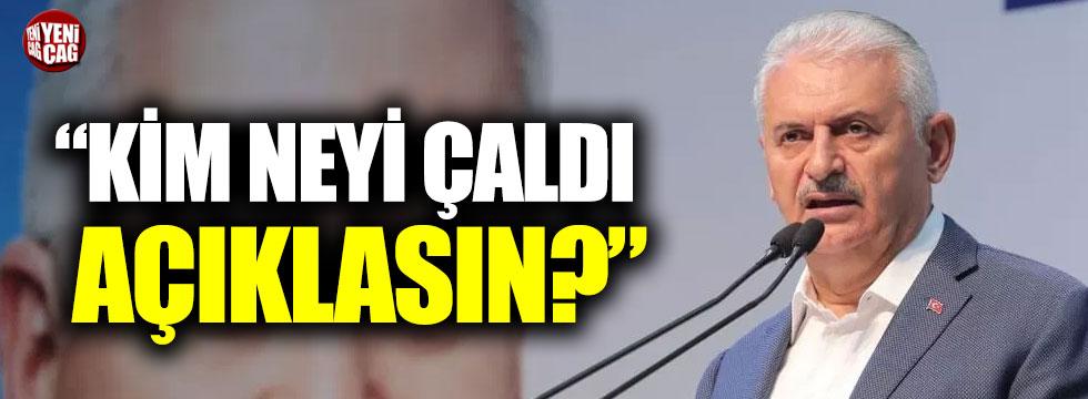 """CHP'li Özel'den Binali Yıldırım'a: """"Kim neyi çaldı açıklasın?"""""""