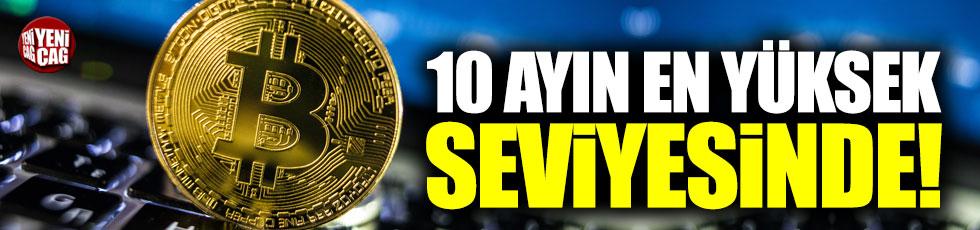 Bitcoin 10 ayın en yüksek seviyesinde!