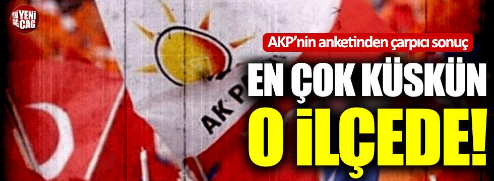 """AKP'nin yaptırdığı araştırmada çarpıcı sonuç: """"En çok küskün Esenyurt'ta"""""""