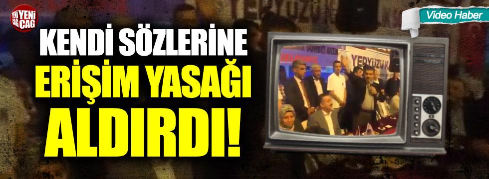 Mehmet Tevfik Göksu kendi sözlerine erişim yasağı aldırdı