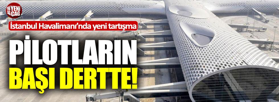 İstanbul Havalimanı'nda inişlere 'rüzgar' engeli