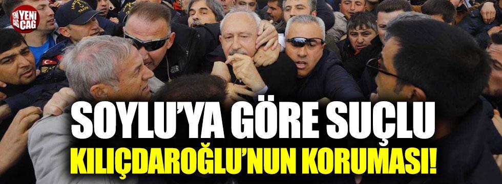 Süleyman Soylu suçluyu buldu