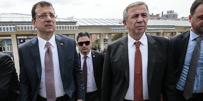 İmamoğlu ve Yavaş'tan Galatasaray paylaşımı