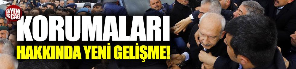 Kılıçdaroğlu'nun korumasına yeniden eğitim talimatı