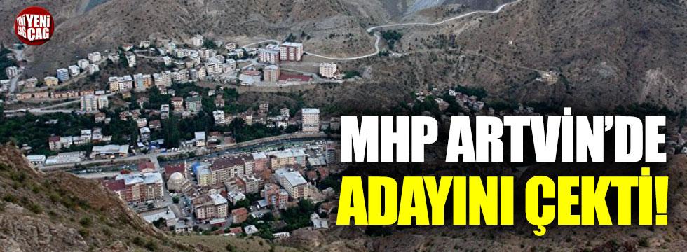 MHP, Yusufeli'nde adayını çekti!