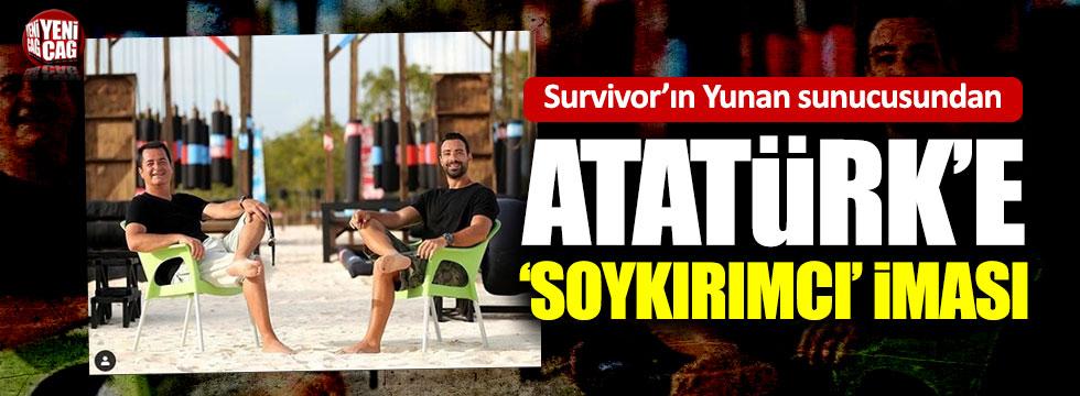Acun'un sunucusu Atatürk'ü soykırımcı ilan etti