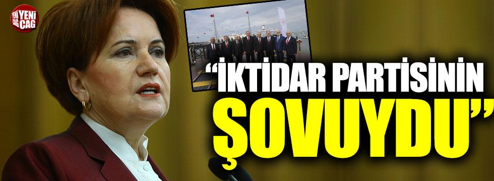 """Akşener: """"Samsun'daki bir devlet töreni değil, iktidar partisinin şovuydu"""""""