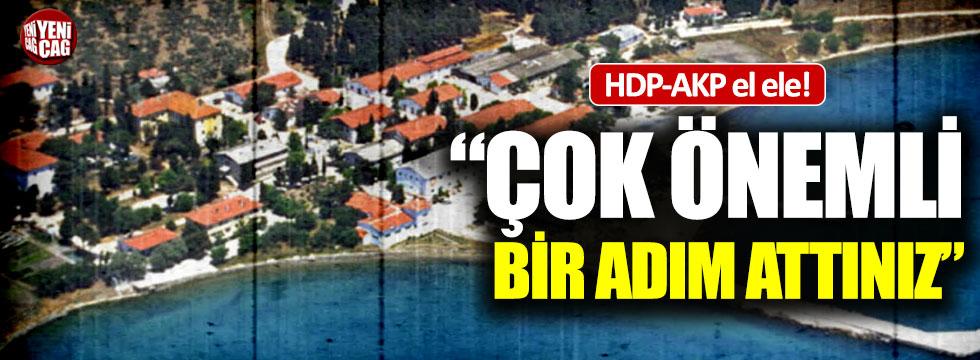 """HDP'den AKP'ye destek: """"Çok önemli bir adım attınız"""""""