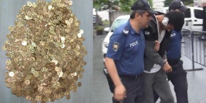 Sahte altın operasyonu: 2 Suriyeli tutuklandı