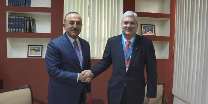 Çavuşoğlu, Kosta Rika Dışişleri Bakanı ile görüştü