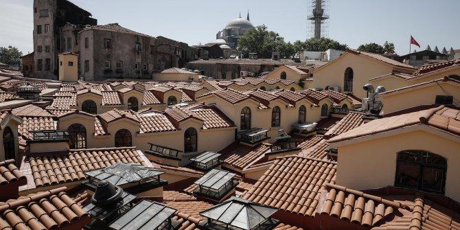 Kapalıçarşı'nın çatısı yenilendi
