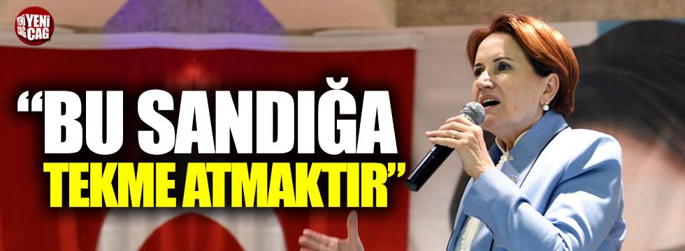 Akşener Nevşehir'de konuştu