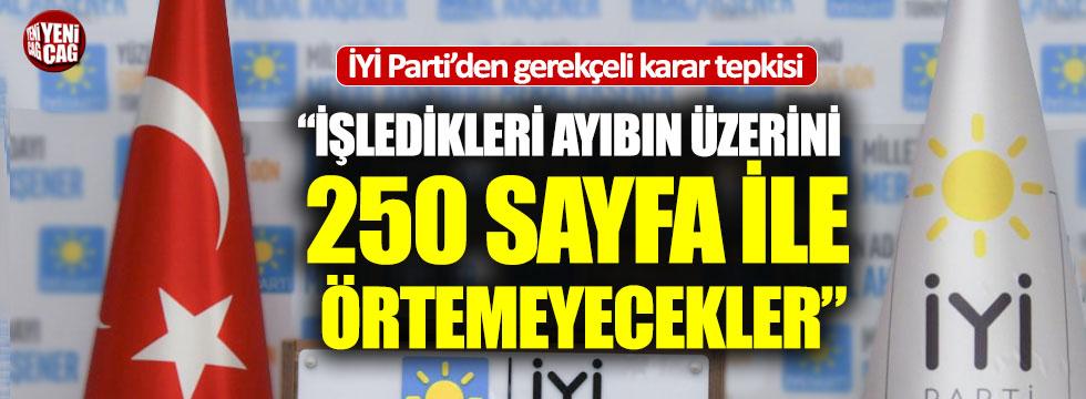 İYİ Parti'den YSK'ya gerekçe tepkisi!