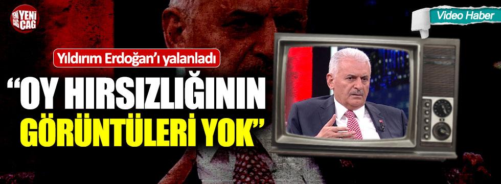 Binali Yıldırım Erdoğan'ı yalanladı!