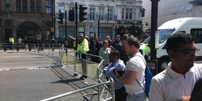 Londra'da güvenlik alarmı!