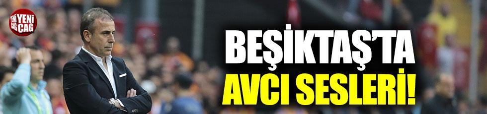 Beşiktaş'ta Abdullah Avcı sesleri