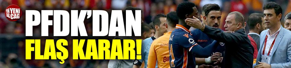 PFDK'dan, Galatasaray-Başakşehir kararı