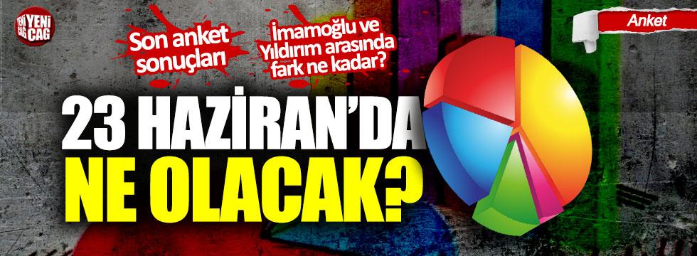 23 Haziran'da ne olacak: Anketler İstanbul için ne diyor?