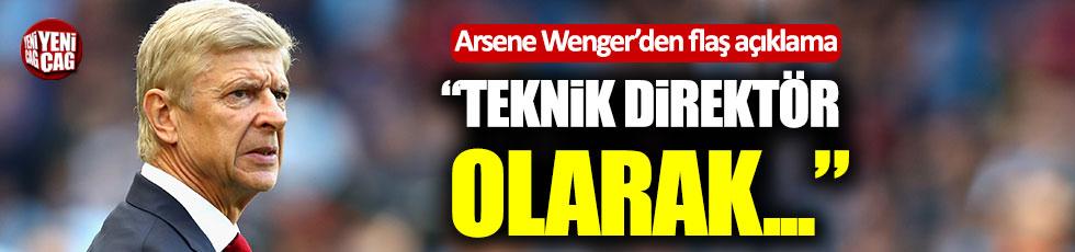 Arsene Wenger'den flaş açıklama!